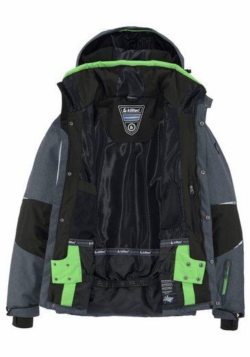 Killtec Skijacke FEROI COLOURBLOCK, Wassersäule 8000mm