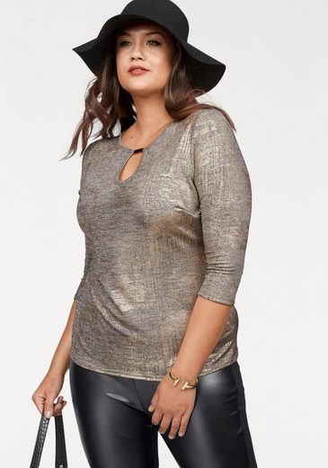 Melrose 3/4-Arm-Shirt, Curvy Collection
