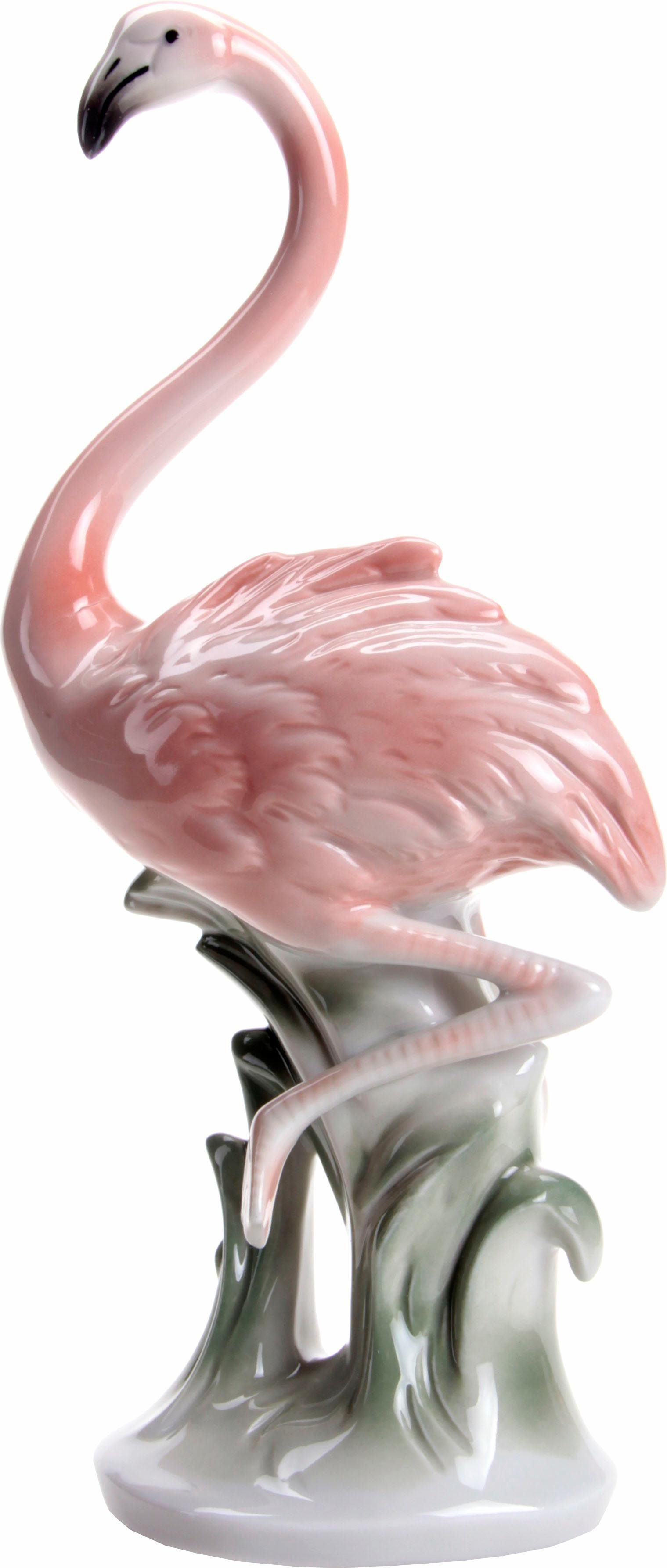Wagner & Apel Figur »Flamingo« aus Porzellan