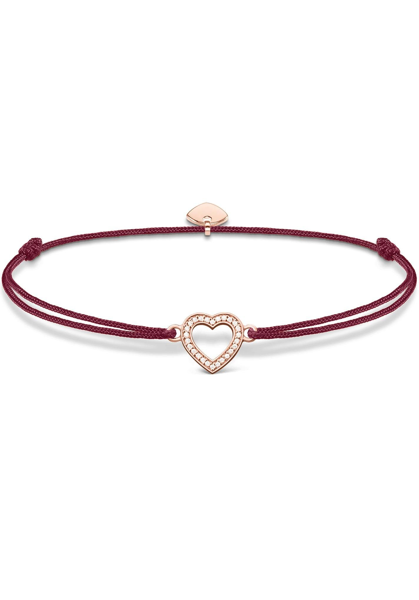 "THOMAS SABO Armband »Little Secret ""Herz"", LS040-898-10-L20v« mit Zirkonia"
