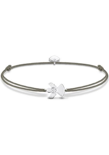 "THOMAS SABO Armband »Little Secret ""Engel"", LS037-401-5-L20v«, mit Zirkonia"