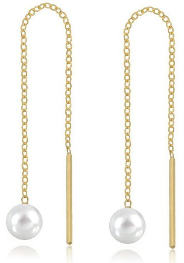 Firetti Perlenohrringe mit Süßwasserzuchtperlen