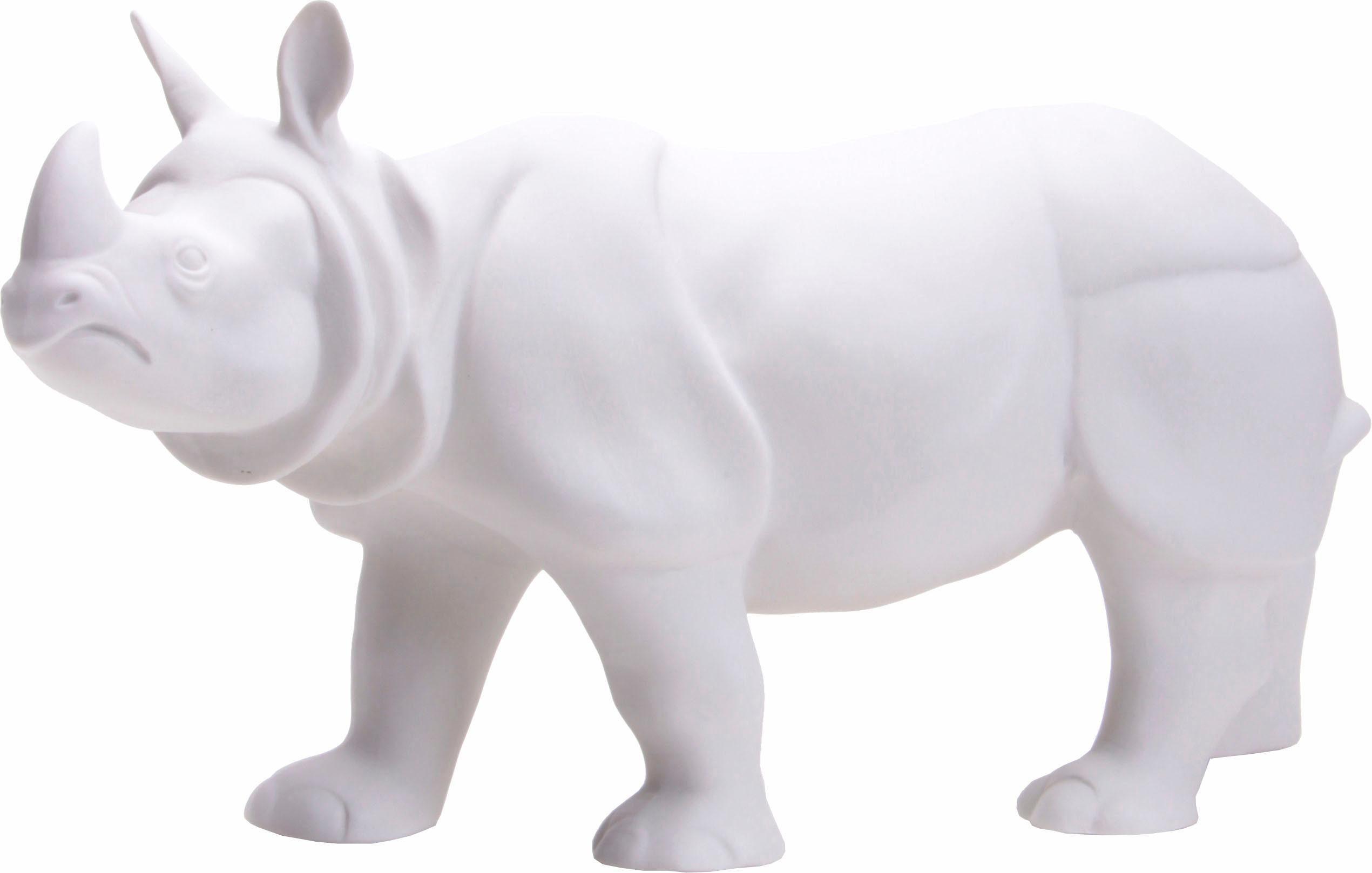Wagner & Apel Figur »Nashorn« aus Porzellan