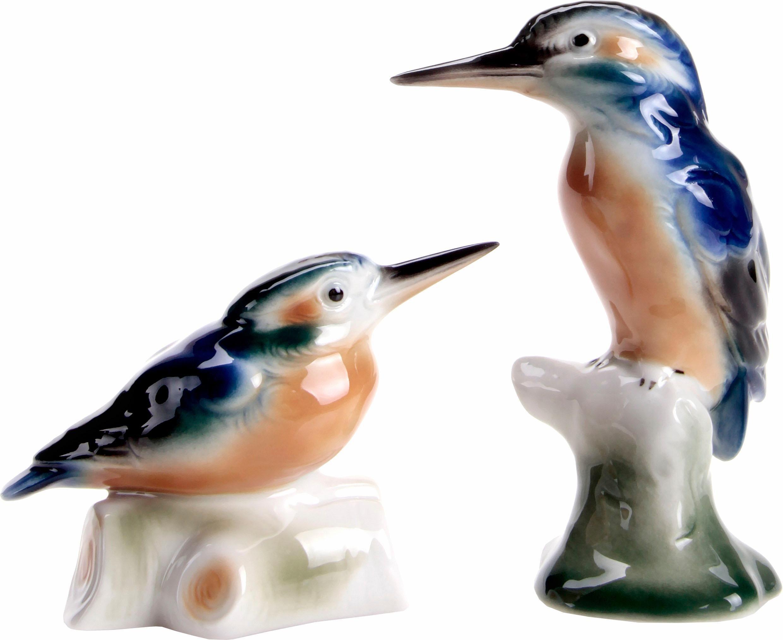 Wagner & Apel Figur »Eisvögel« aus Porzellan (2-tlg. Set)