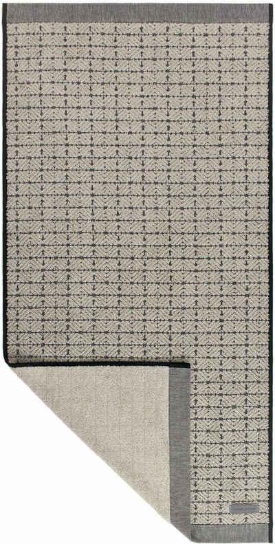 Möve Handtuch »Eden 3« (1-St), mit Quadratstruktur