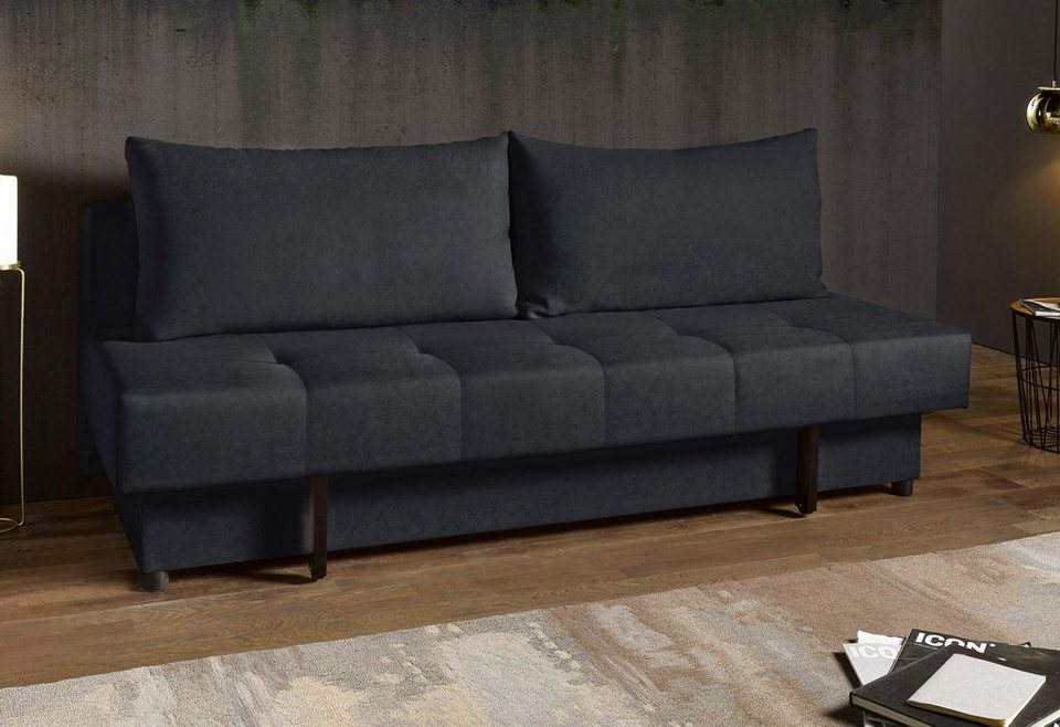 inosign schlafsofa inklusive gro en r ckenkissen otto. Black Bedroom Furniture Sets. Home Design Ideas