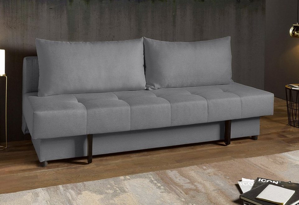 rattan schlafsofa mit bettkasten excellent elegant. Black Bedroom Furniture Sets. Home Design Ideas