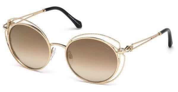 roberto cavalli Roberto Cavalli Damen Sonnenbrille » RC973S«, goldfarben, 28G - gold