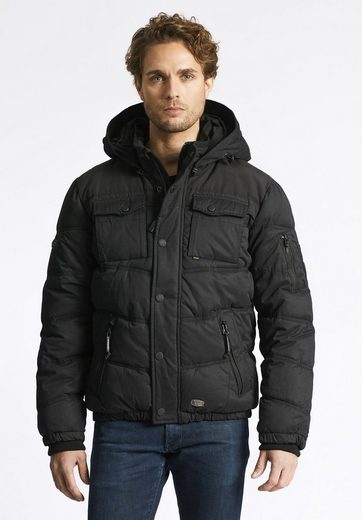 Khujo Winterjacke Gun, Fit With Contrasting