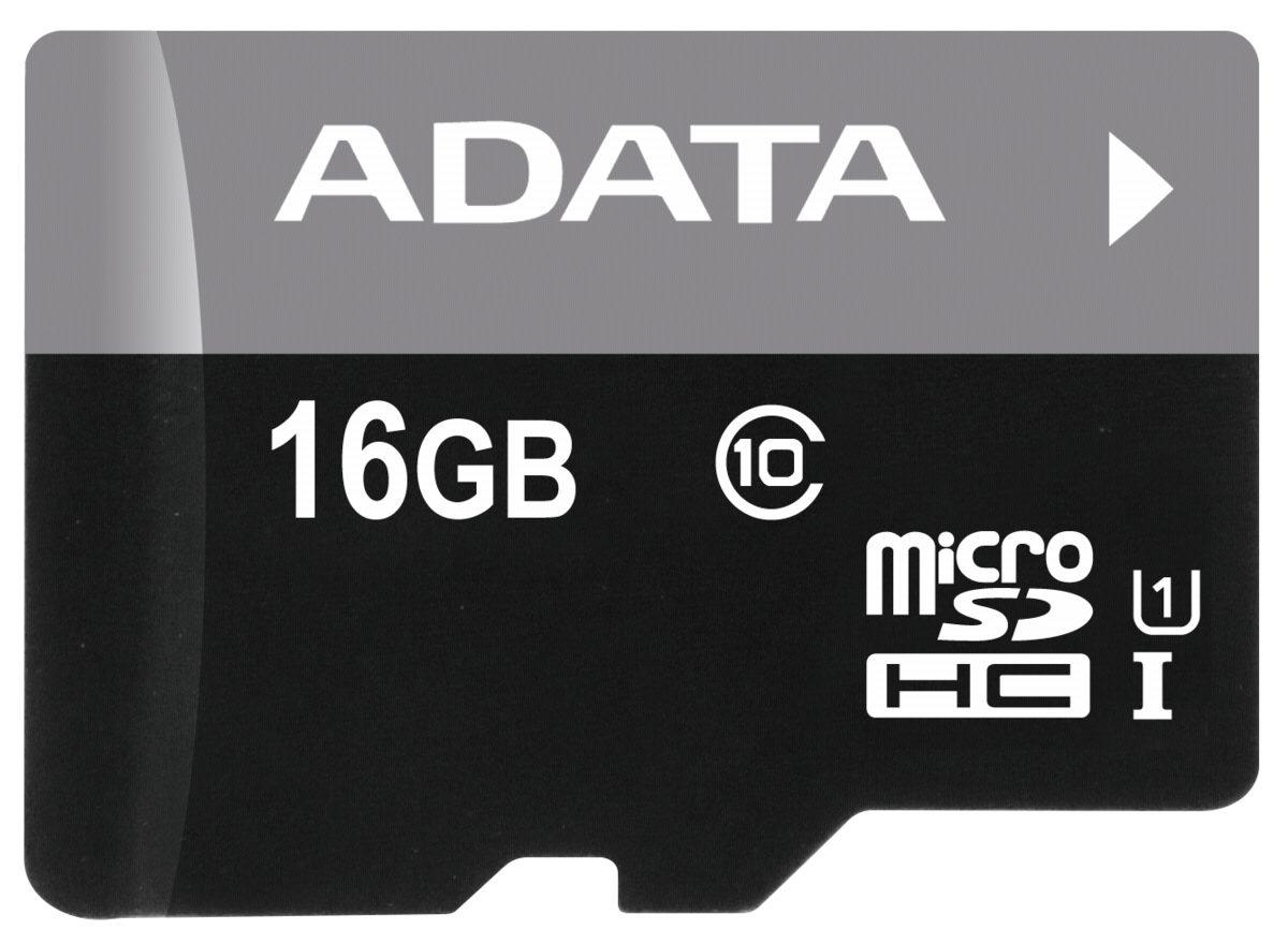 ADATA microSDXC Speicherkarte »microSDHC UHS-I Class 10 16GB Premier«