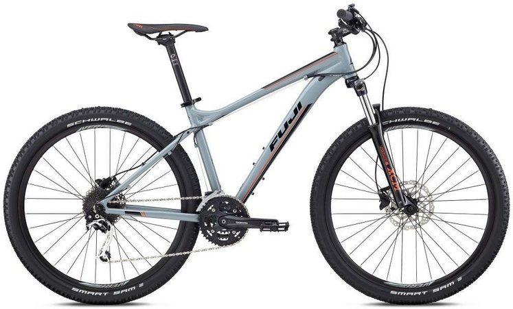 FUJI Bikes Mountainbike »NEVADA 27,5 1.3 2018«, 27 Gang Shimano Deore XT Schaltwerk, Kettenschaltung