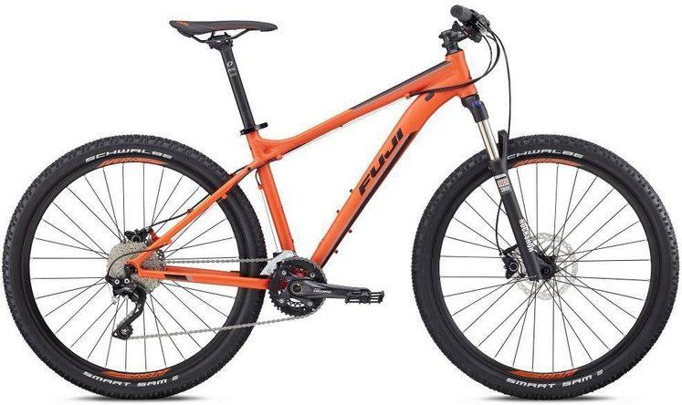 FUJI Bikes Mountainbike »NEVADA 27,5 1.1 2018«, 20 Gang Shimano Deore XT Schaltwerk, Kettenschaltung