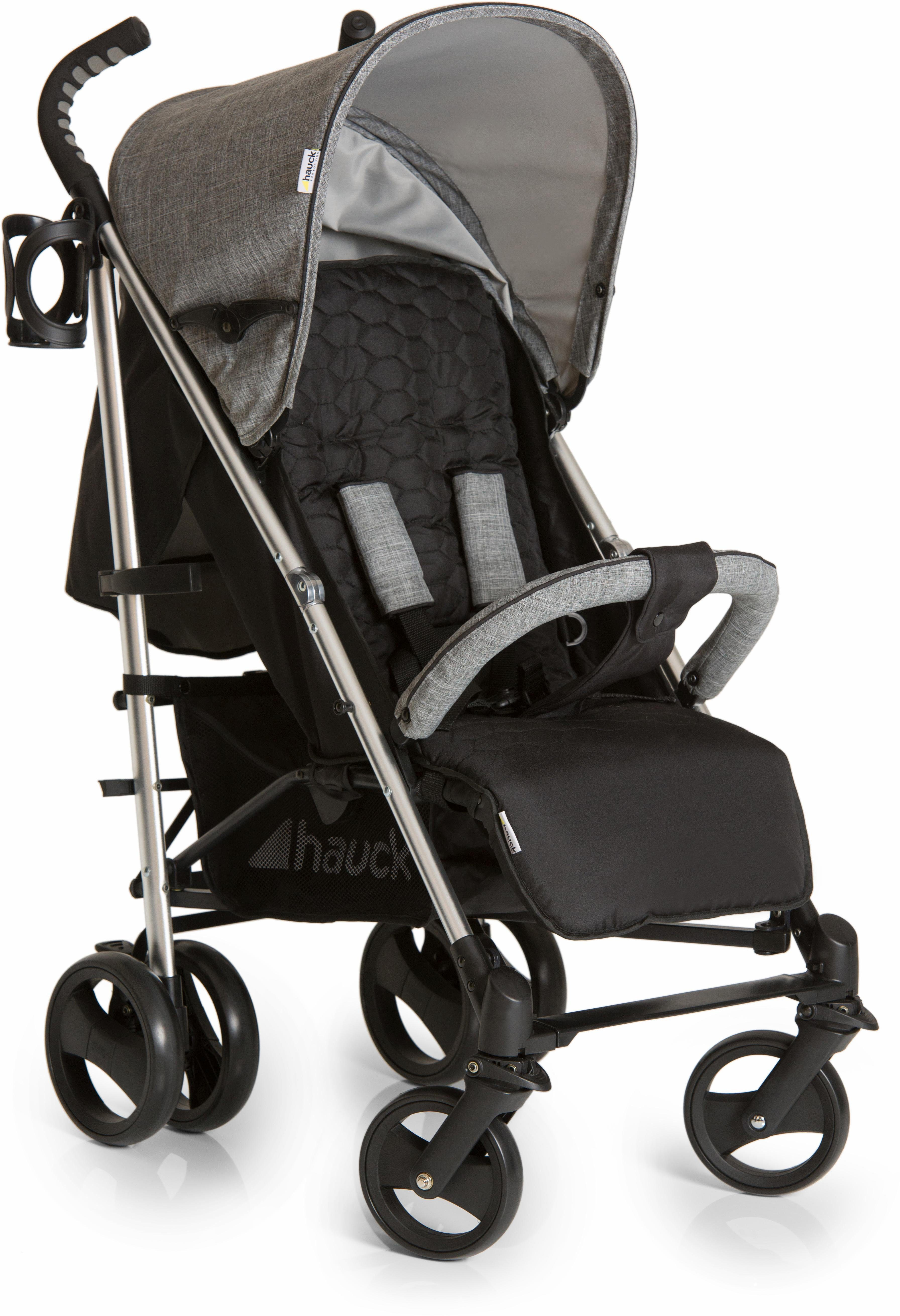 hauck FUN FOR KIDS Buggy mit leichtem Aluminiumgestell, »Vegas Melange Grey X«