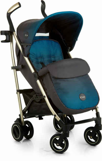 iCoo Kinder-Buggy »Pace Indigo«, mit leichtem Aluminiumgestell; Kinderwagen, Buggy, Sportwagen, Sportbuggy, Kinderbuggy, Sport-Kinderwagen