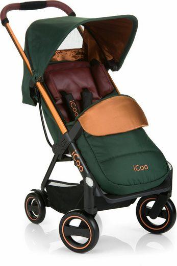iCoo Kinder-Buggy »Acrobat Copper Green«, mit leichtem und stylischem Aluminiumgestell; Kinderwagen, Buggy, Sportwagen, Sportbuggy, Kinderbuggy, Sport-Kinderwagen