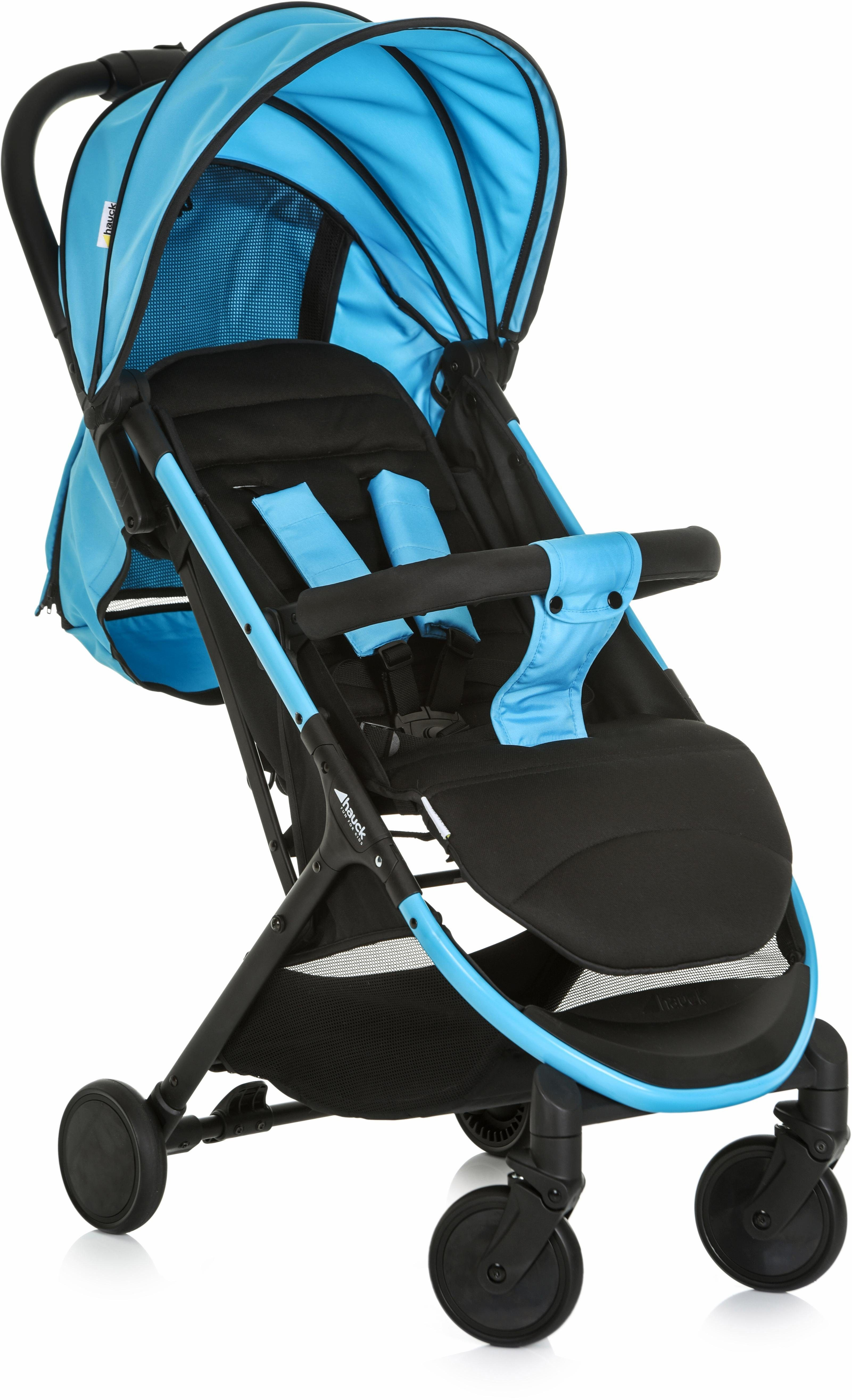 hauck FUN FOR KIDS Buggy mit leichtem Aluminiumgestell, »Swift Plus Neon Blue/caviar«