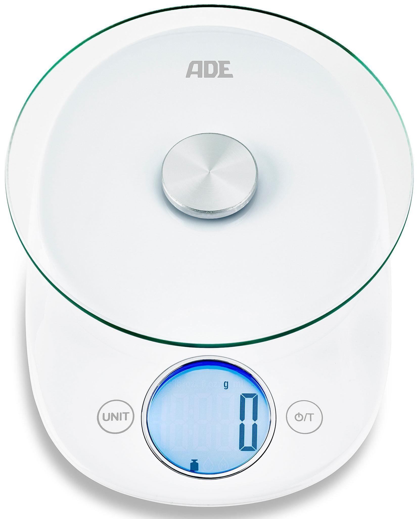 ADE Digitale Küchenwaage KE 1705 Carla
