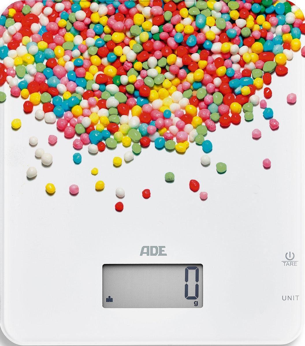 ADE Digitale Küchenwaage KE 1720 Candy
