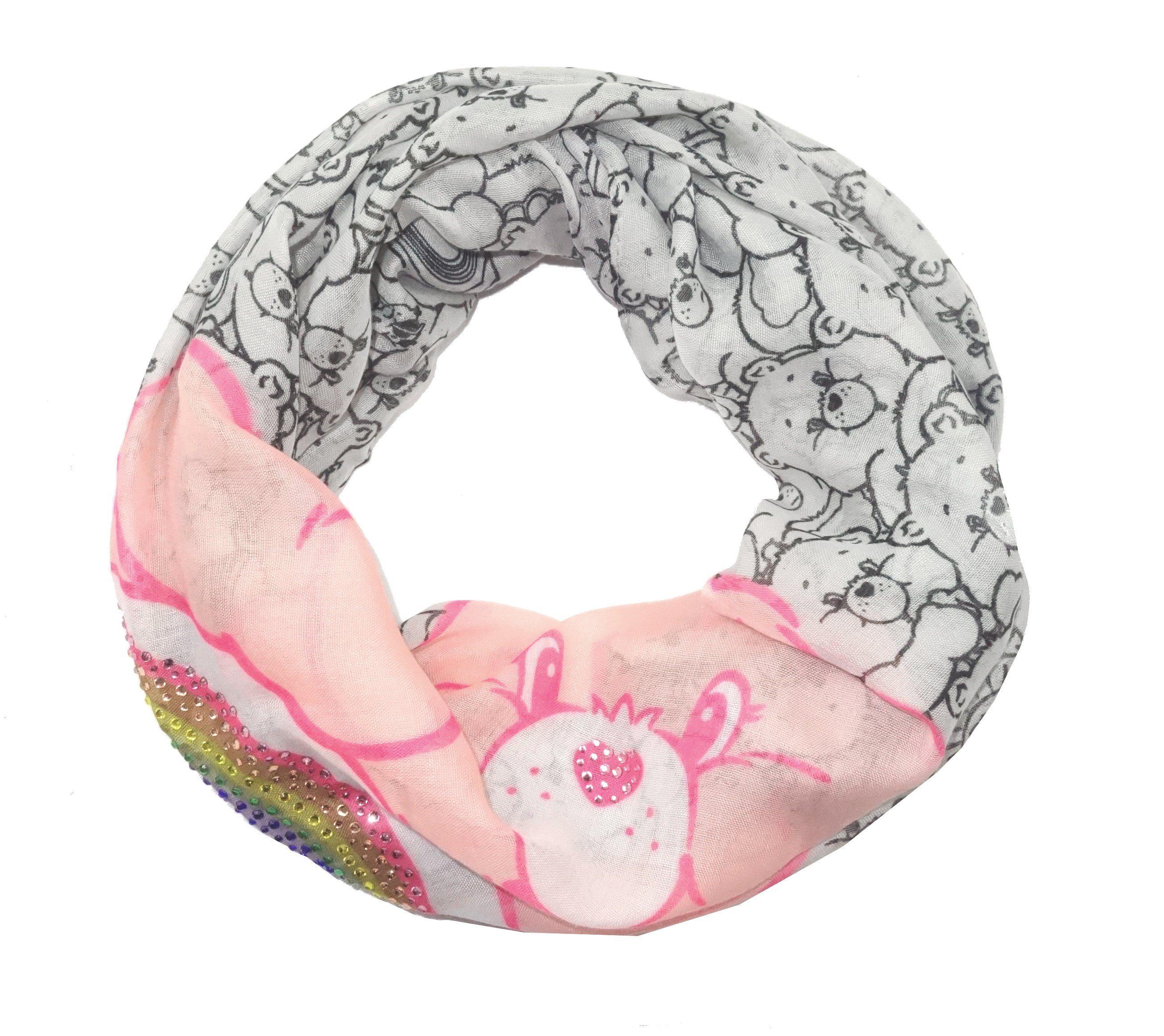 Codello Loop-Schal mit Glücksbärchi
