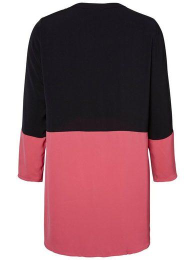 Junarose Color Blocking Dress