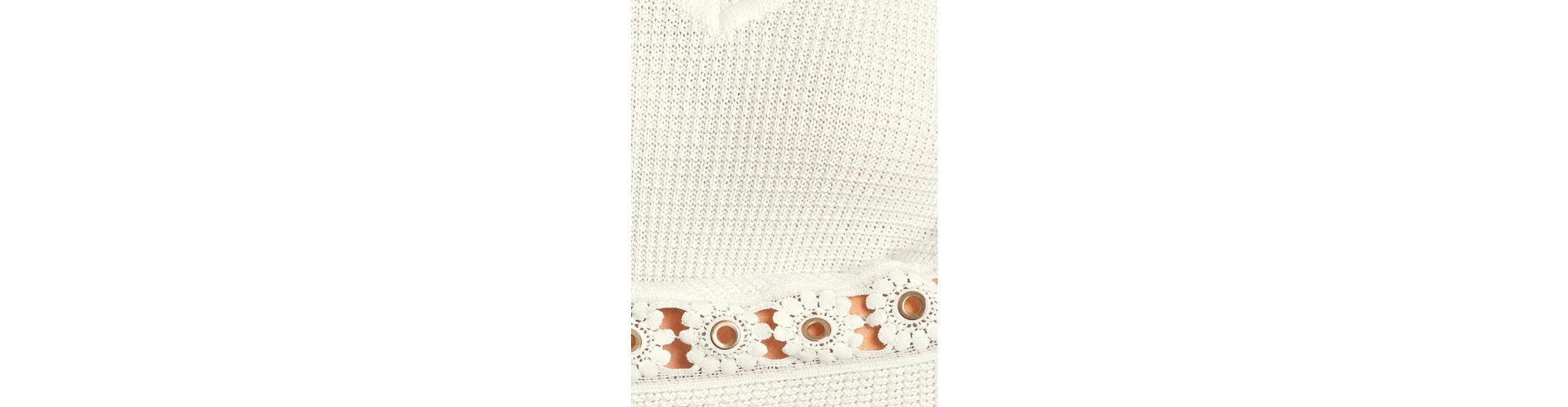 Spielraum Top-Qualität ASHLEY BROOKE by Heine Pullover mit Blütenapplikation Wählen Sie Einen Besten Günstigen Preis Neue Ankunft Online Ausgezeichnet Zum Verkauf trXhZ