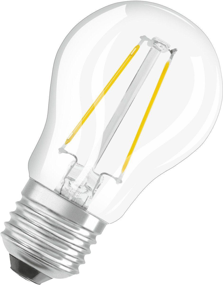 Osram Leuchtmittel »LED STAR FILAMENT klar CLP 25 2,8W/827 E27 250LM«