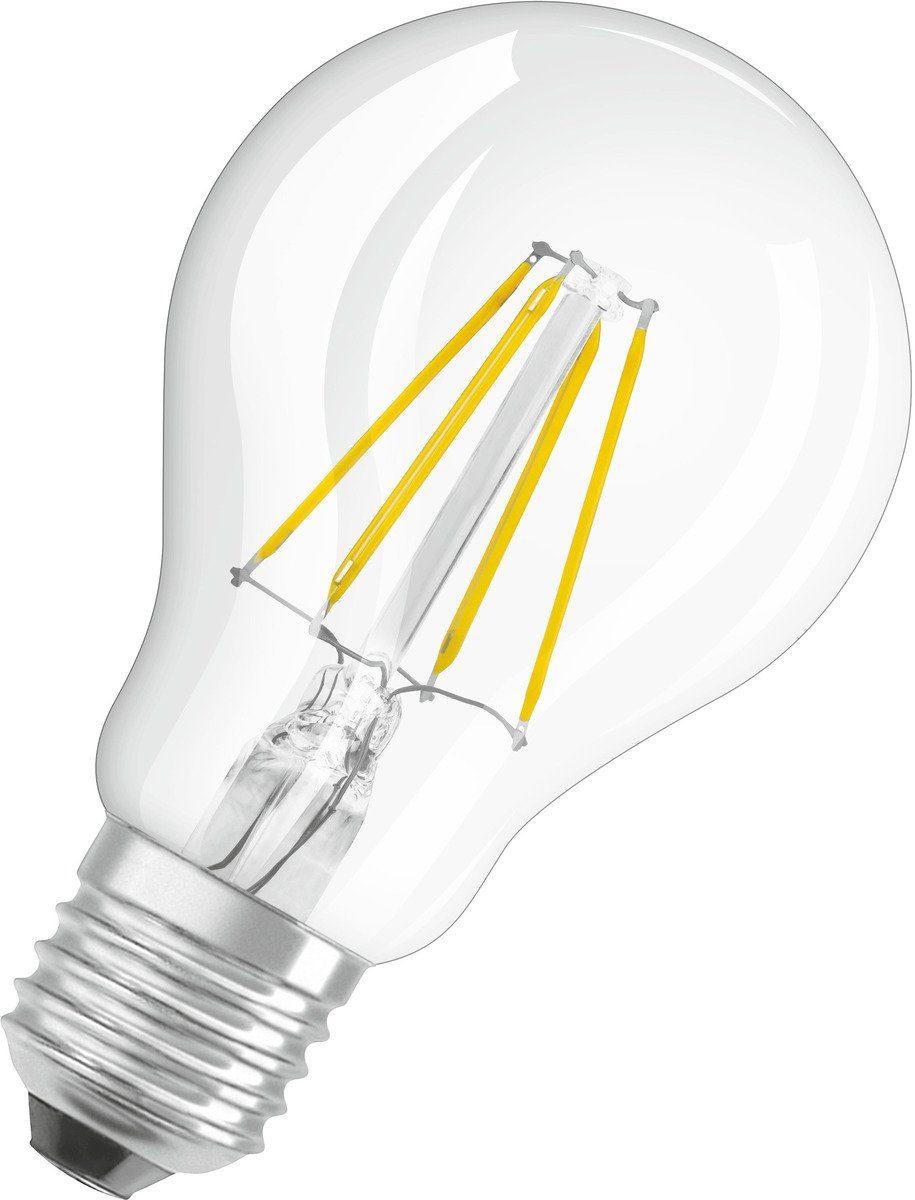Osram Leuchtmittel »LED BASE FILAMENT klar CLA40 4W/827 470LM E27«