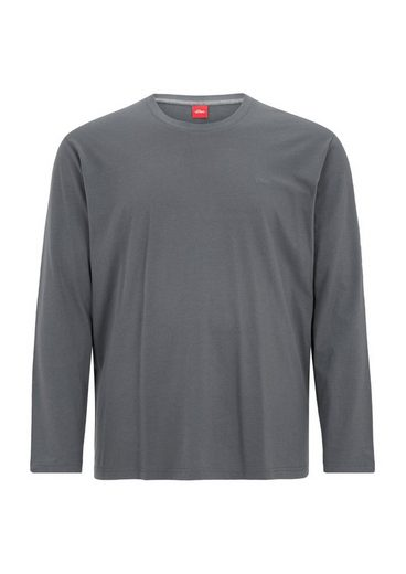 s.Oliver RED LABEL Basic-Longsleeve aus Jersey