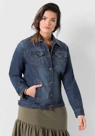save off 5b548 c1ad0 Jeansjacken in großen Größen » Plus Size Jeansjacke kaufen ...