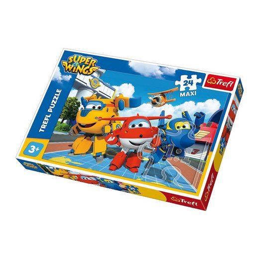 Trefl Maxi Puzzle 24 Teile - Super Wings