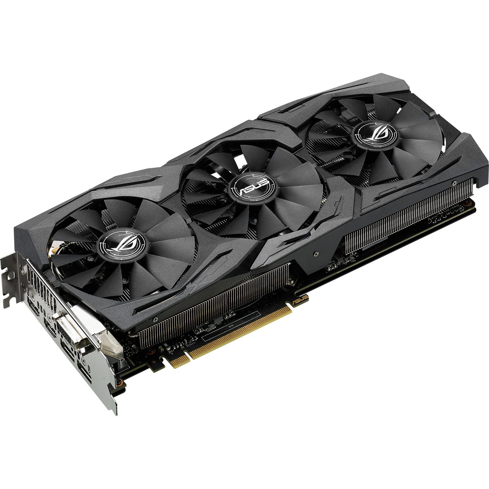 ASUS Grafikkarte »GeForce GTX 1070 STRIX GAMING« - broschei