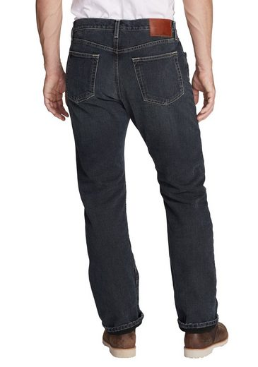Eddie Bauer Authentic Jeans mit Fleecefutter - Straight Fit
