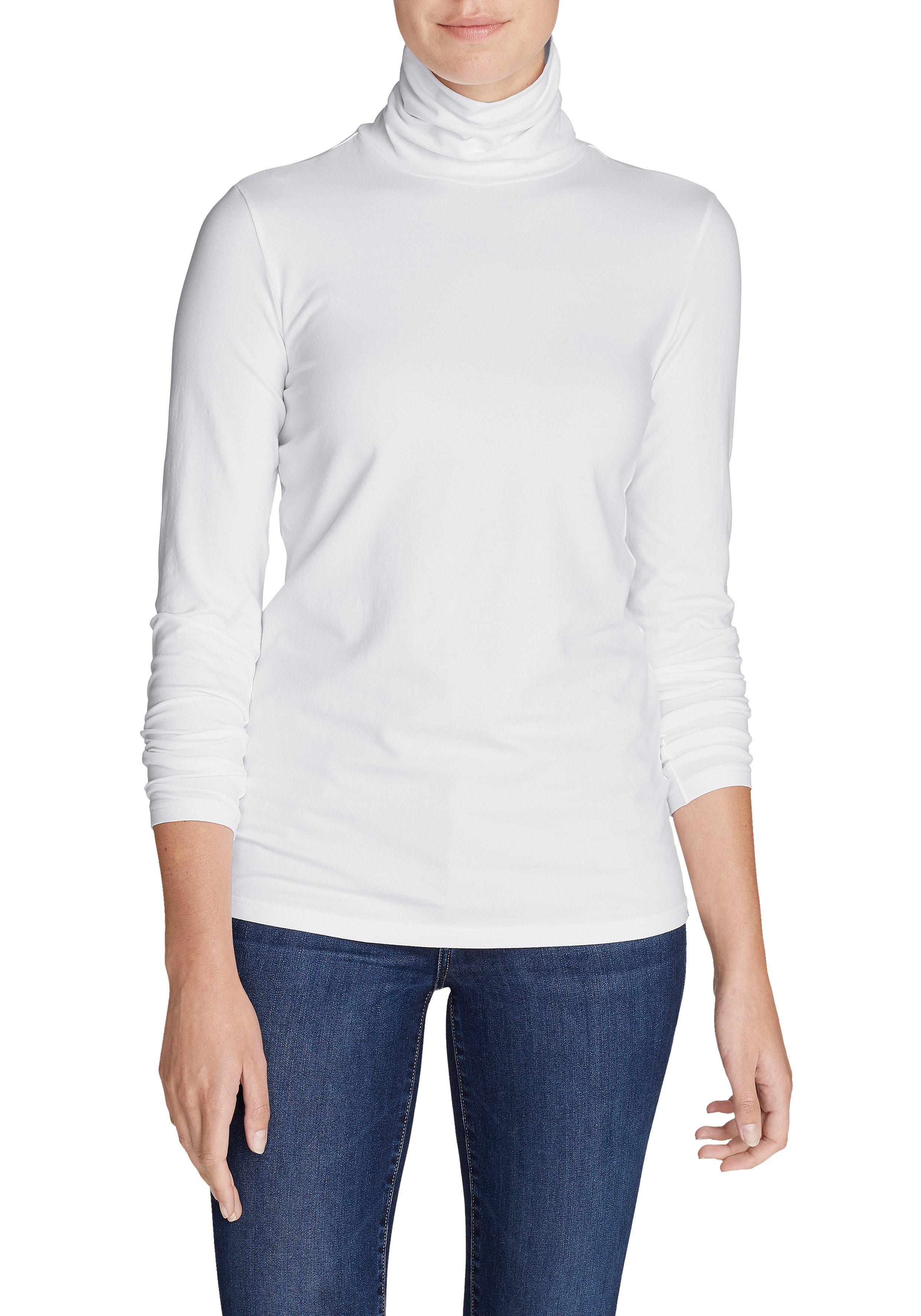 eddie bauer -  Langarm-Poloshirt Layerific Rollkragen-Shirt - Langarm