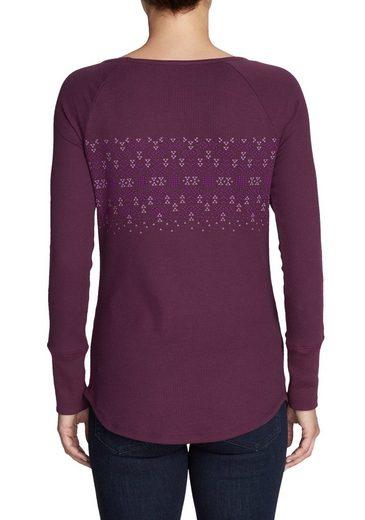 Eddie Bauer Stine´s Favorite Thermo-Shirts - Gemustert