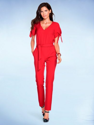 Ashley Brooke By Heine Overall With Tie Belt