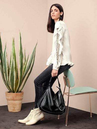 Rick Cardona By Heine Blouse With Lace