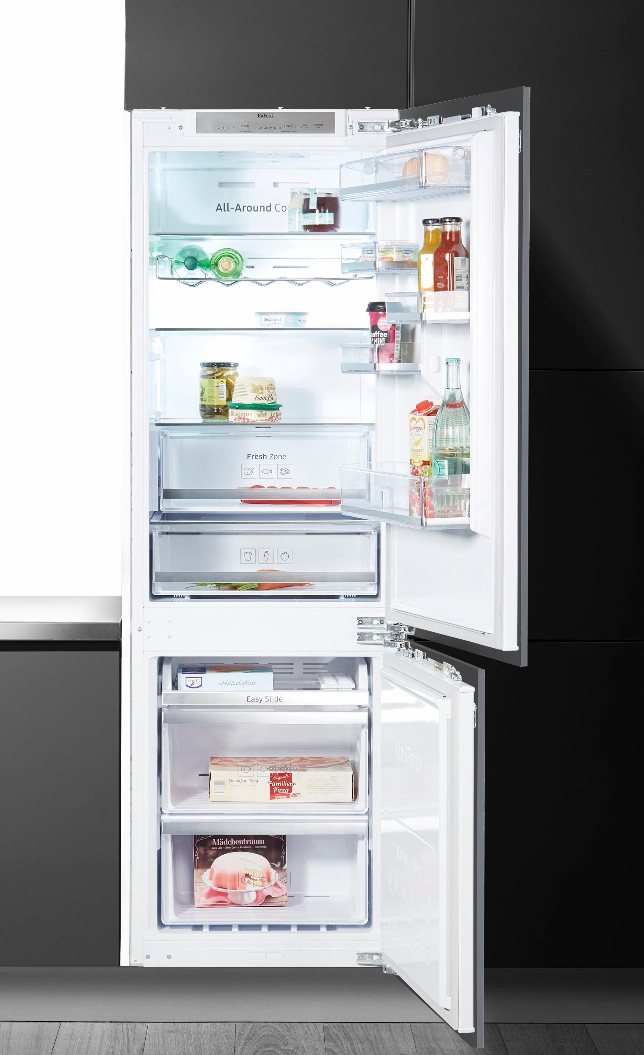 Samsung Einbaukühlgefrierkombination BRB260130WWEG, 177,5 cm hoch, 60 cm breit, Energieeffizienzklasse A+, 178 cm
