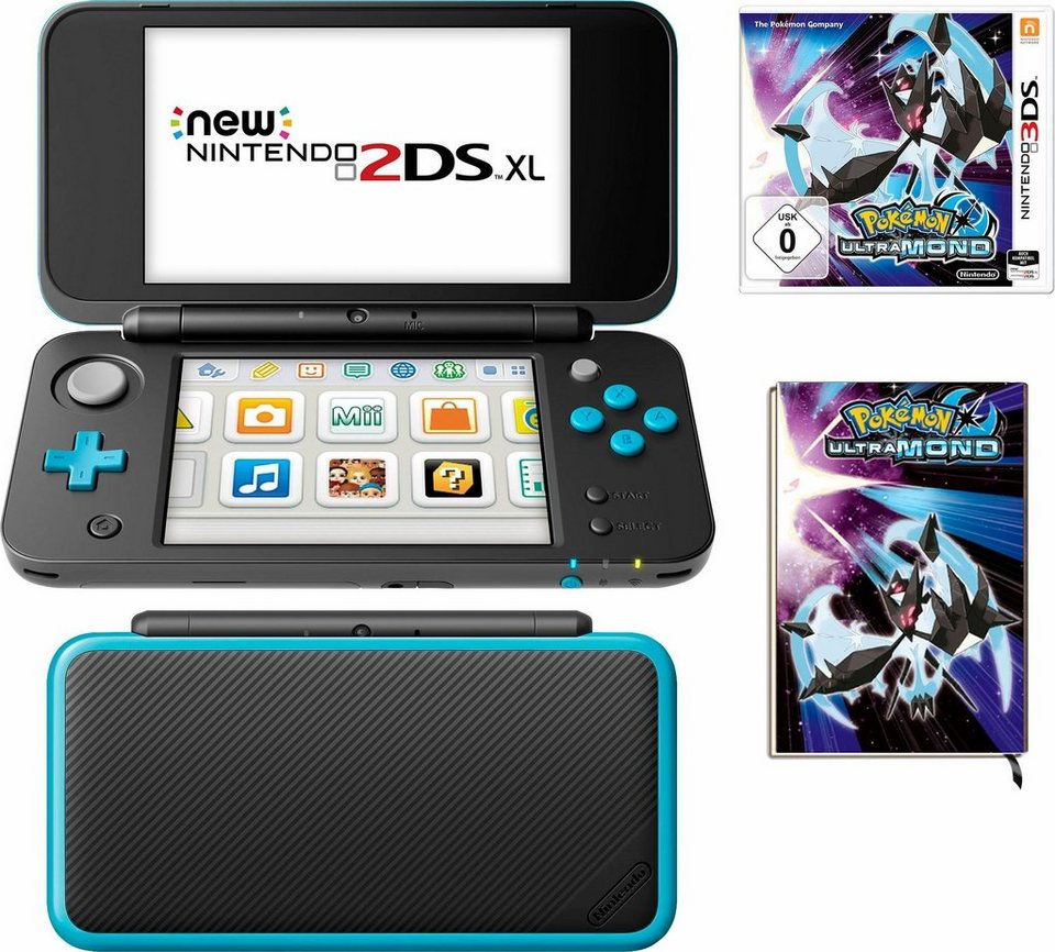 New nintendo 2ds xl pokemon ultramond notizbuch online for Housse 2ds xl pokemon