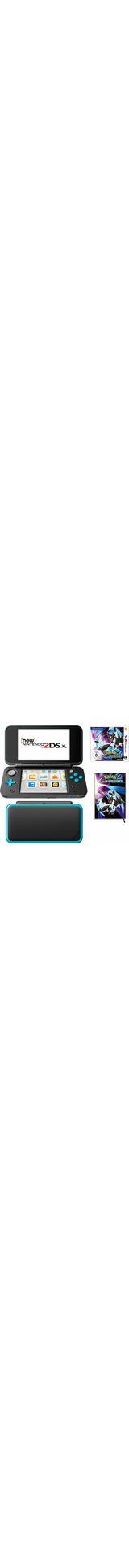 New Nintendo 2DS XL + Pokemon Ultramond + Notizbuch