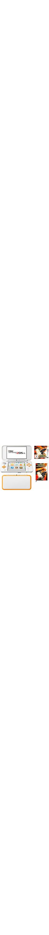 New Nintendo 2DS XL + Pokemon Ultrasonne + Notizbuch