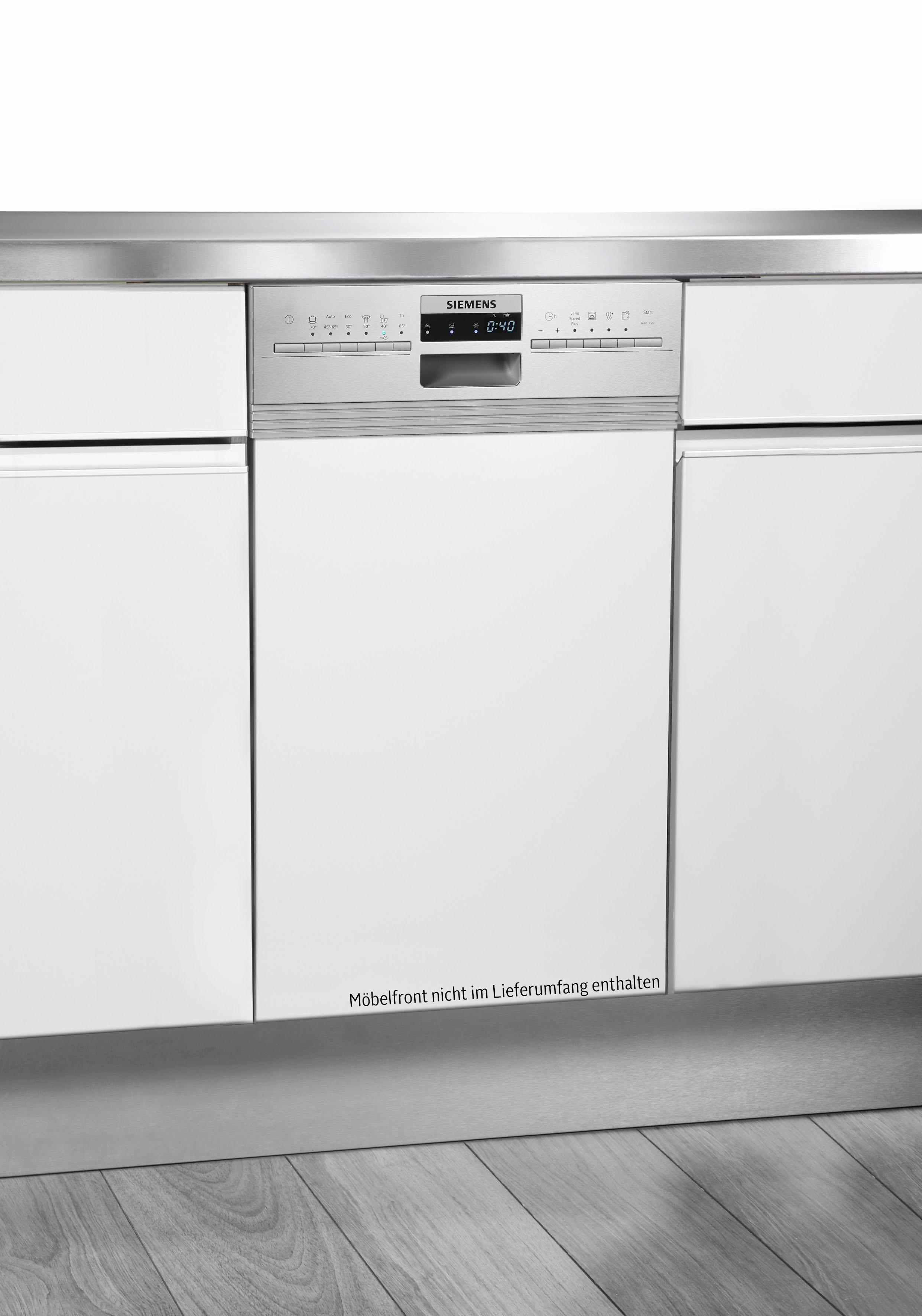 teilintegrierbarer Geschirrspüler, SR536S01ME, 9,5 l, 10 Maßgedecke, 45 cm breit