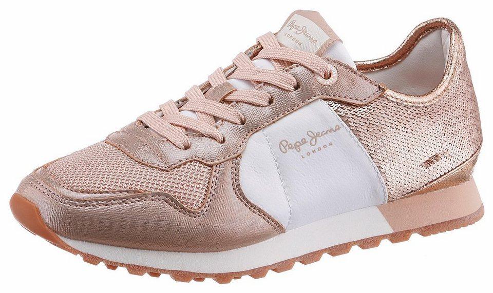 Pepe Jeans »VERONA W SEQUINS« Sneaker mit schimmernden Pailletten ... df48445bd5