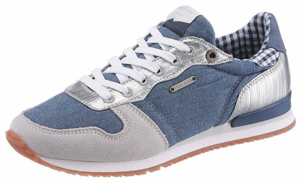 bf08d1fc5738da Pepe Jeans »GABLE SUE« Sneaker mit Metallic-Details online kaufen