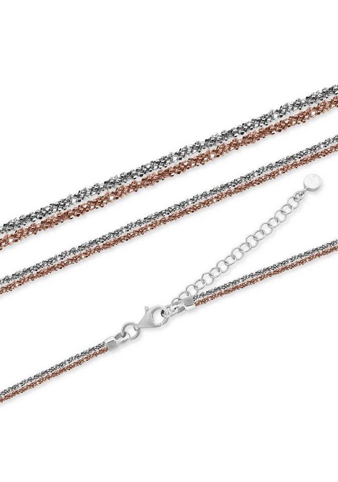 Firetti Silberkette   Schmuck > Halsketten > Silberketten   Goldfarben   Firetti