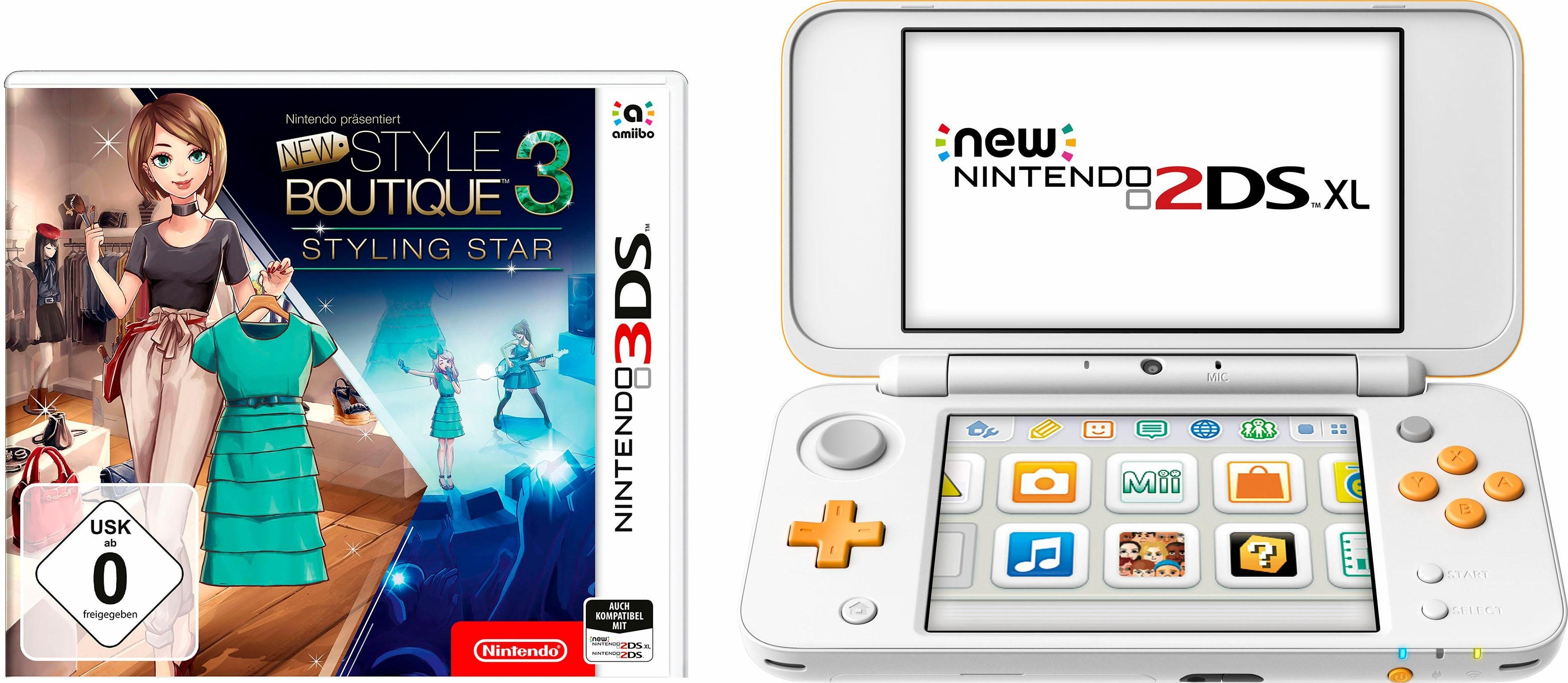 Nintendo New 2DS XL + New Style Boutique 3