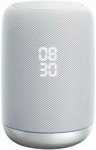 Sony LF-S50G Lautsprecher mit integriertem Google Assistant (360 Grad Sound, Multiroom, Bluetooth, NFC, WiFi, Spotify)
