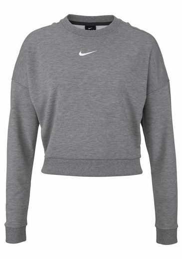 Nike Sweatshirt DRY TOP LONGSLEEVE CREWNECK CROP