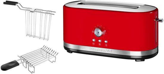 KitchenAid Toaster 5KMT4116EER, 1 langer Schlitz, 1800 W, empire rot