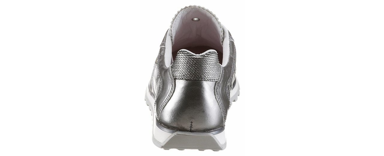 Cetti Slip-On Sneaker, im trendigen Metallic-Look