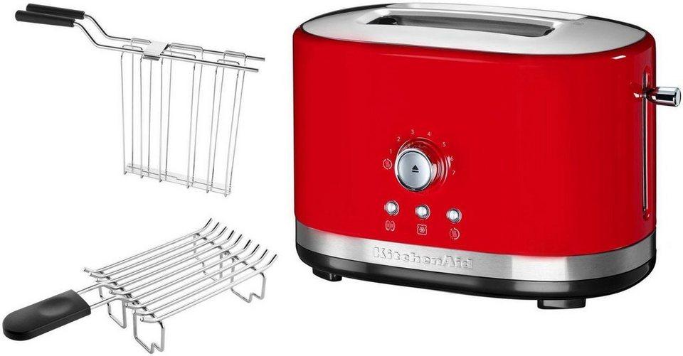 kitchenaid toaster 5kmt2116eer f r 2 scheiben 1200 w empire rot online kaufen otto. Black Bedroom Furniture Sets. Home Design Ideas
